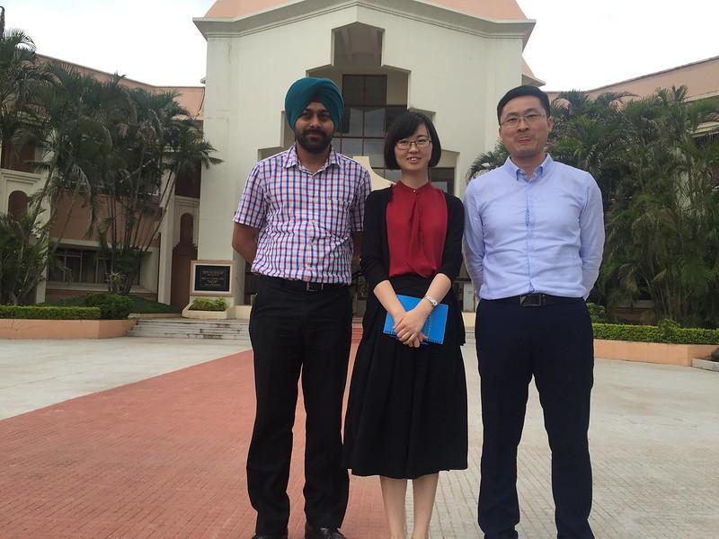 ZTE delegation visit