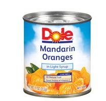 Dole Mandarin Oranges Coupon