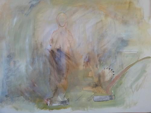 Pequeño busto de hombre dragon by cardesin