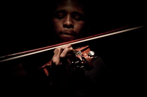[フリー画像素材] 人物, 男性, 楽器, バイオリン, 音楽 ID:201203251200