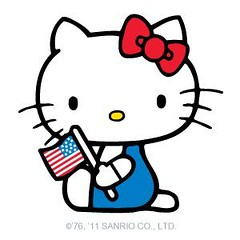 Exif hello kitty 4th of july flickr photo sharing for Hello kitty 4th of july coloring pages