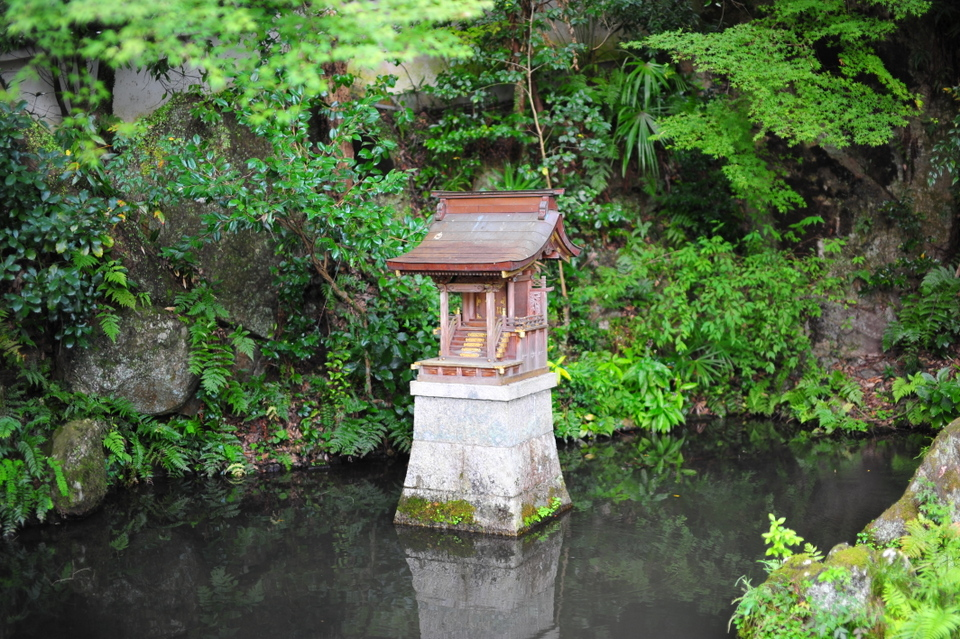 Temple in the pond?