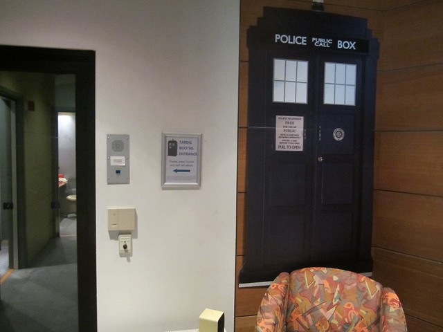 TARDIS studio, ABC