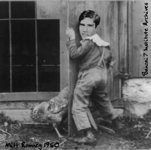 MITT ROMNEY 1950 by Colonel Flick