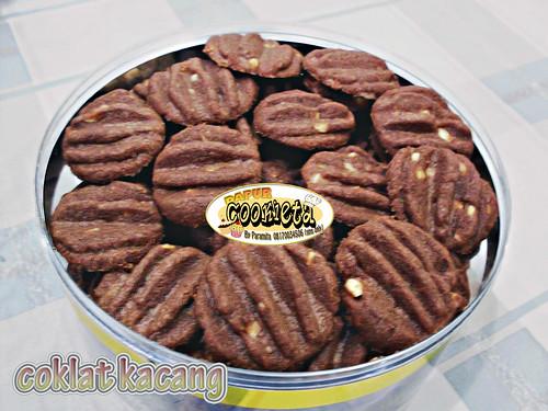 Kue Coklat kacang