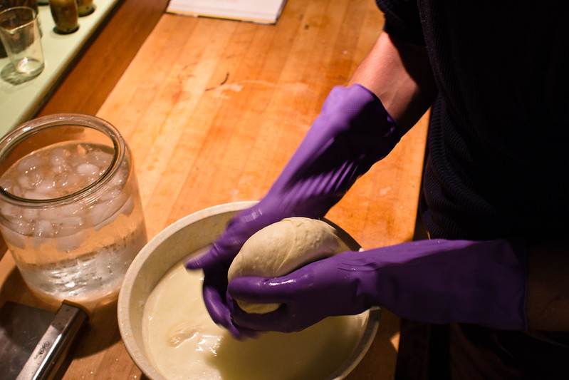 Shaping Curd, on Flickr