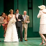 The cast of the Huntington Theatre Company's production of PRELUDE TO A KISS playing at the BU Theatre. Part of the 2009-2010 season. Photo: T. Charles Erickson