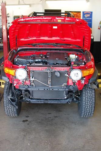 FJ Ready for new bumper