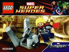 30163 - Thor and the Cosmic Cube