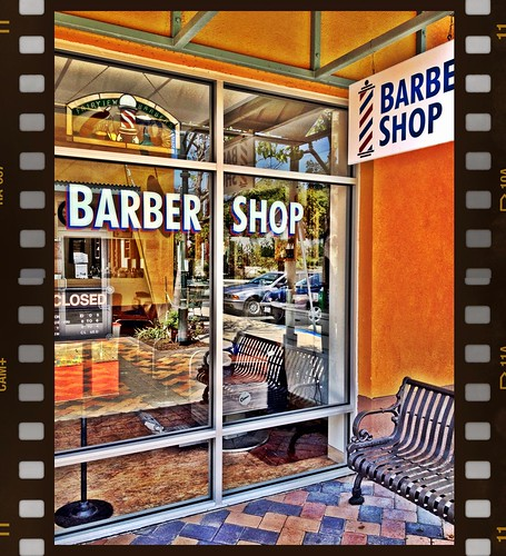 Barber Shop by Damian Gadal