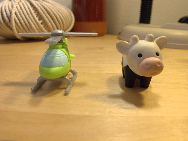 Helicopter Cow
