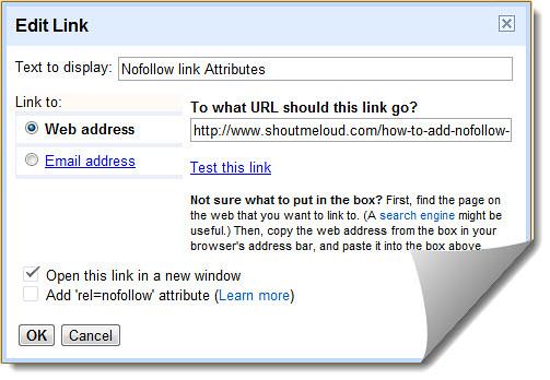 BlogSpot nofollow link rel | BlogSpot Blogger got major SEO
