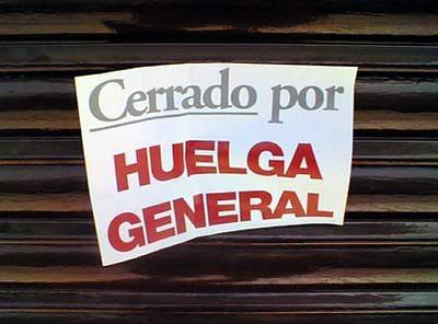 LA HUELGA del 29 by LaVisitaComunicacion