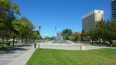 The hubs for cultural events -Victoria Square - Things to do in Adelaide