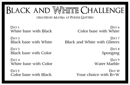 The Black & White Challenge