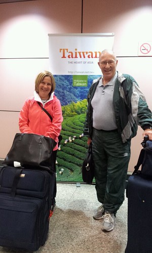 Mom and Dad in Taiwan