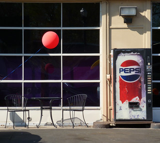 Pepsi and Red Balloon