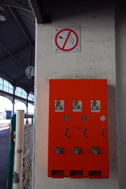 Maputo [021] estação de caminho de ferro