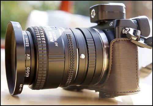 Sony NEX-7 Nikon 28mm f/2.8D