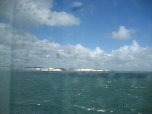 Arriving back at Dover