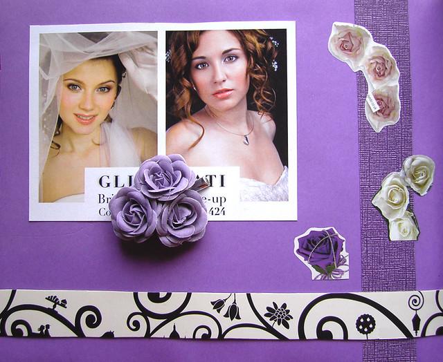 Wedding Scrapbook Page 13a Hair makeup ideas I 39m thinking of having