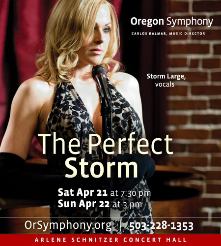 Strom Large With The Oregon Symphony