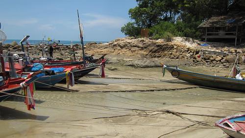 Koh Samui Chaweng Beach →Chaweng Noi Beach サムイ島チャウエンビーチからチャウエンノイビーチへ岩越え (3)