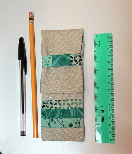 Size of pencil case