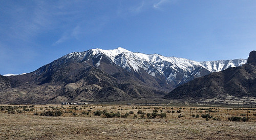 Mt. Nebo from I-15