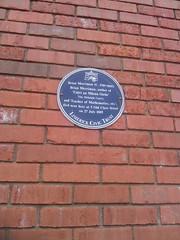 Photo of Brian Merriman blue plaque