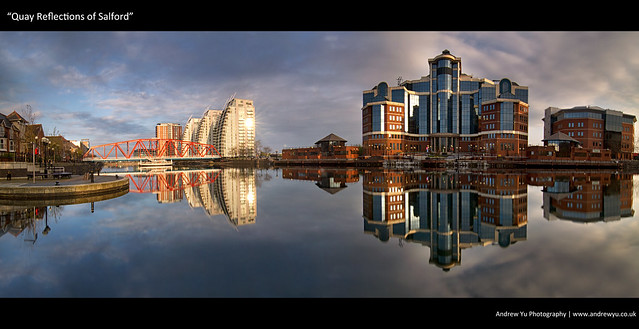 """Quay Reflections of Salford"""