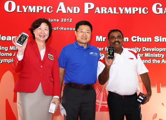 Team Singapore Chef de Mission