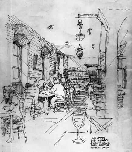Málaga, la casa del perro