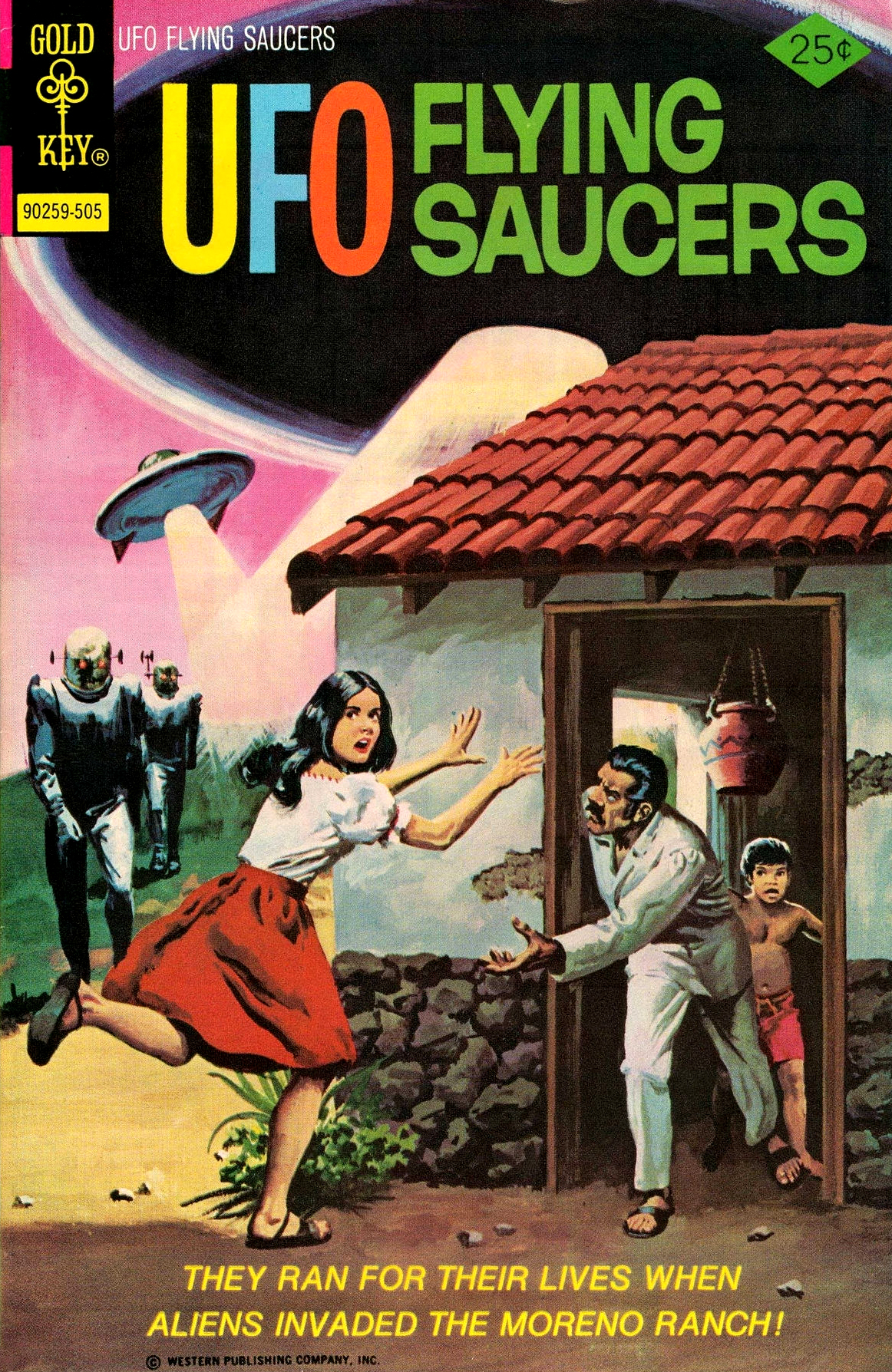 UFO Flying Saucers #6 (Gold Key, 1975)