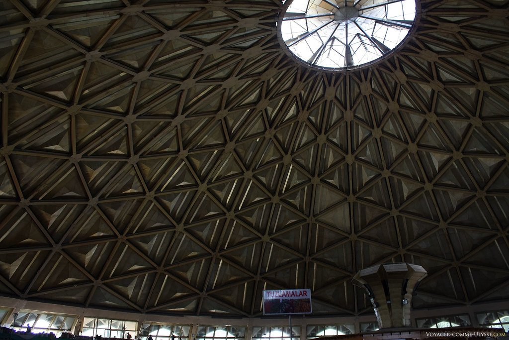 Esta cúpula é impressionante vista de baixo!