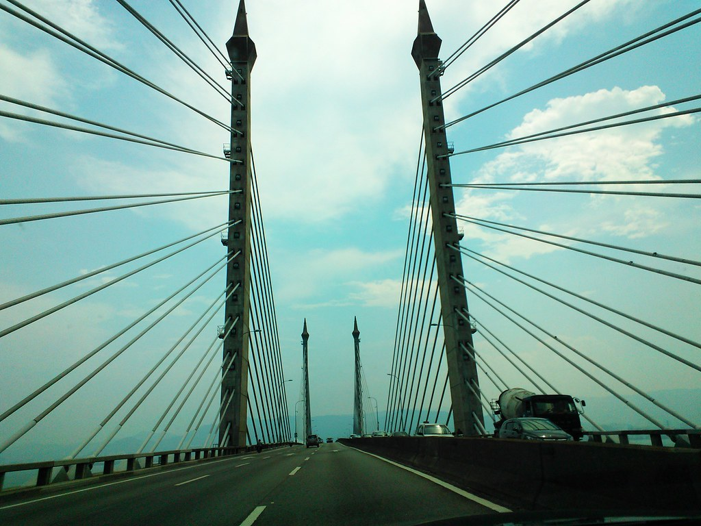 Nokia Lumia 900 @ Penang Bridge
