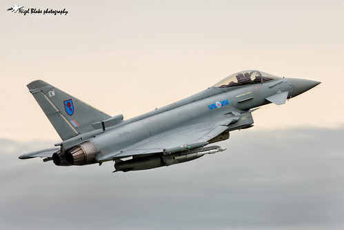 Eurofighter Typhoon FGR4 ZK319 EW 6 Sqn RAF Coningsby