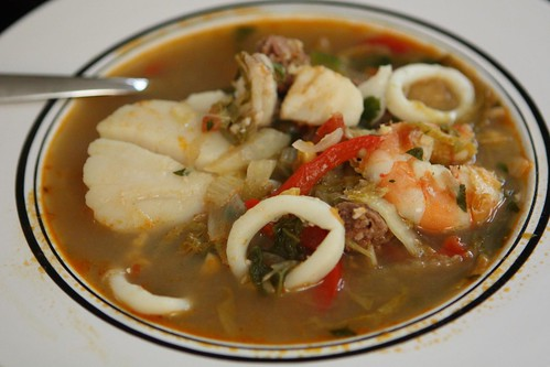 Summer Seafood Soup