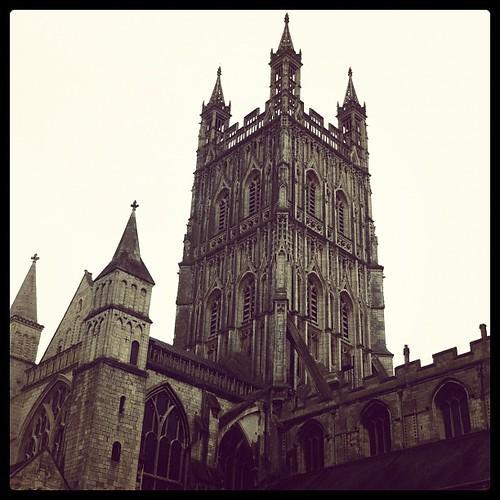 Espectacular la catedral de #Gloucester !!! #HarryPotter