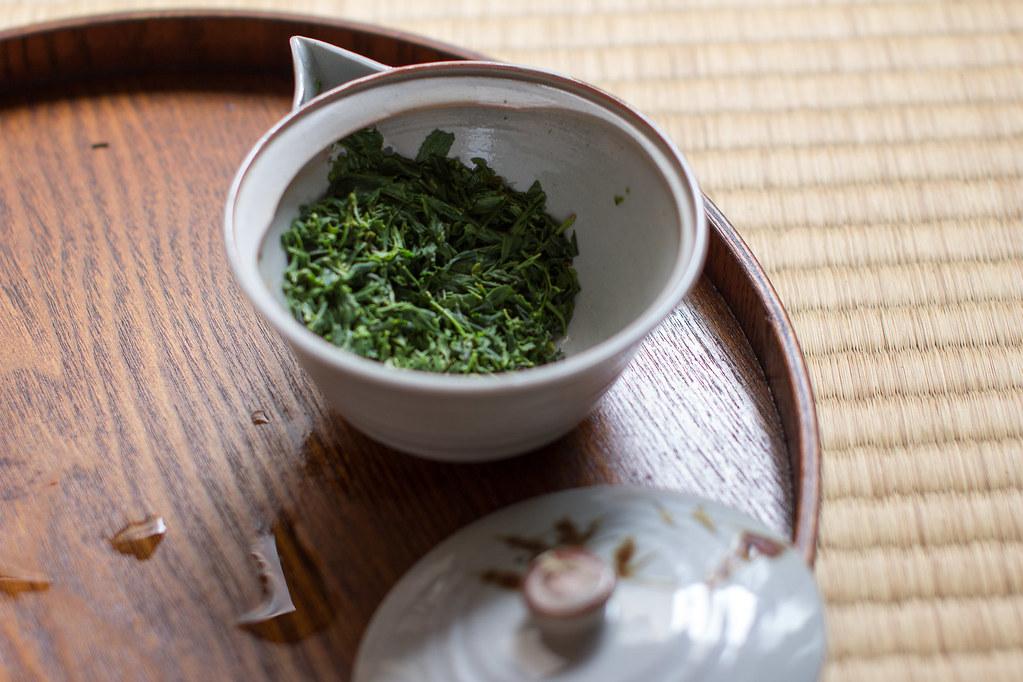 Used tea leaves - chagara