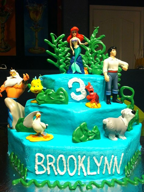 Brooklynn's 3rd birthday cake