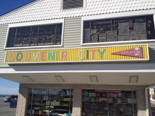Souvenir City Ocean City 6/2012
