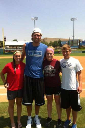 Dirk Nowitzki Heroes Baseball Charity Event