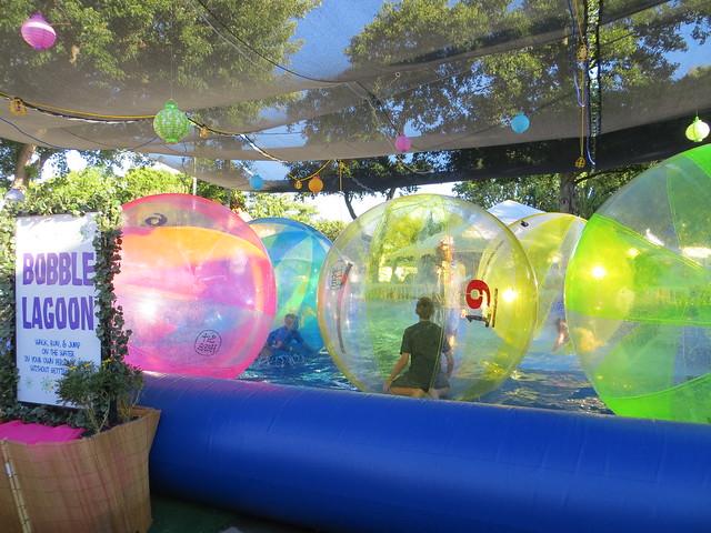Alameda County Fair: Bobble Lagoon