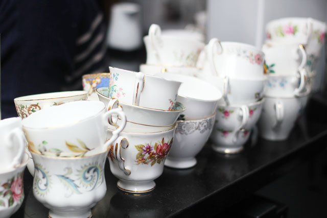 antique teacups
