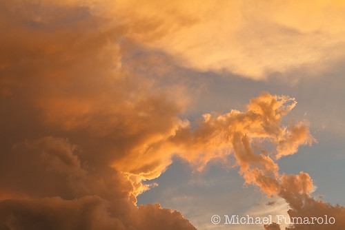 Thunderstorm Sunset Light - 03