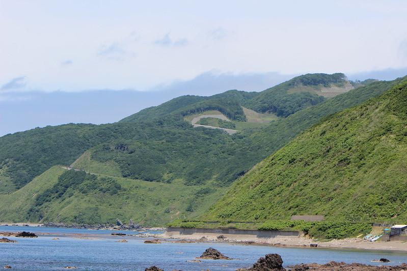 竜飛岬へ続く道 その2