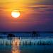 cool&warm sunset by Kwanchai_K