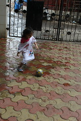 Football Marathon Girl of Bandra Marziya Shakir 4 Year Old by firoze shakir photographerno1