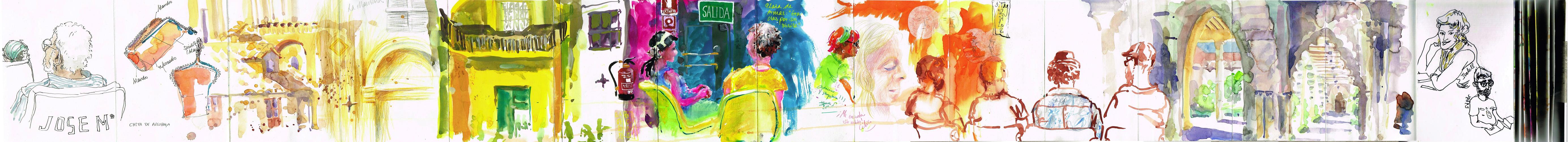 Zaragoza: De vuelta con el cuaderno IV